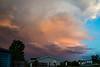 Sunset Lit Thunderhead