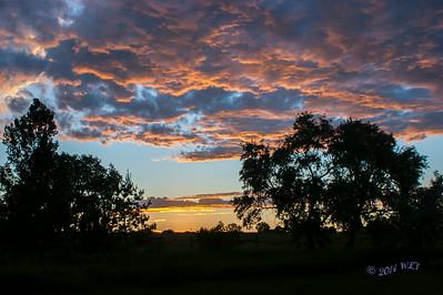 Big Sky Country Sunset