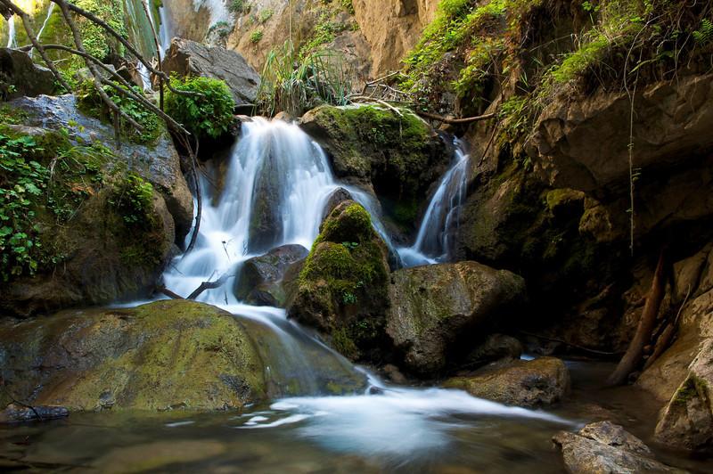 Limekiln Falls, Big Sur, Limekiln State Park, Monterey County