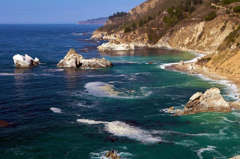 McWay Rocks, Julia Pfeiffer Burns State Park, Big Sur, CA.