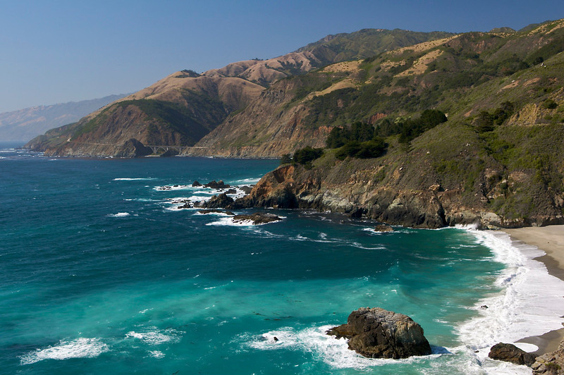 China Basin Beach, Big Sur