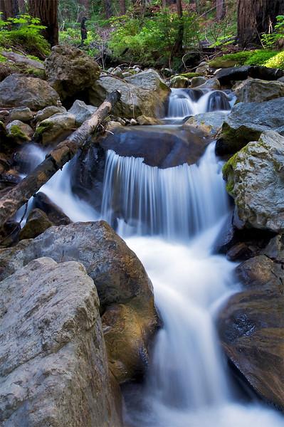 East Fork, Limekiln Creek, Big Sur