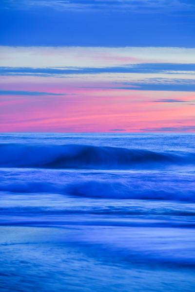 """Waves at Sunset"" Garrapata State Park, Big Sur, California"