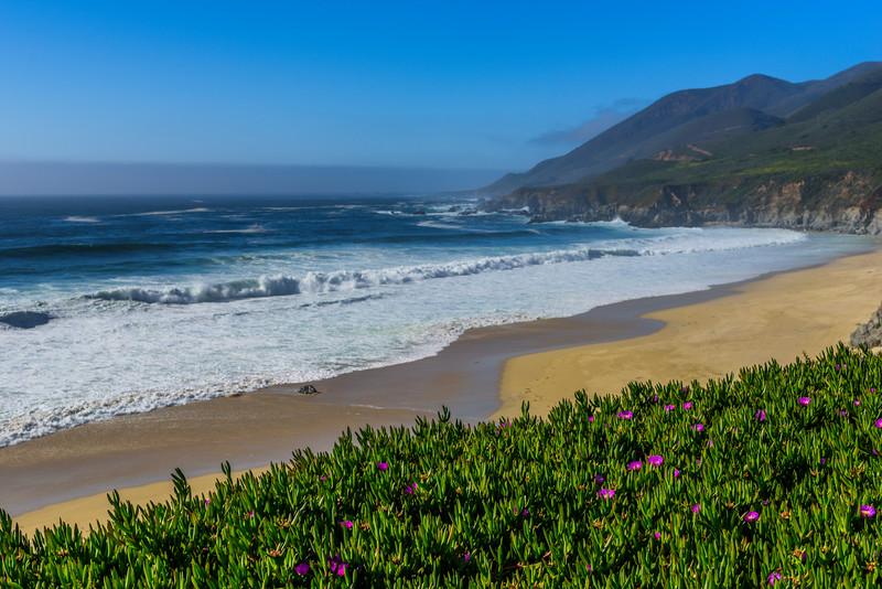 """Waves Crashing Along the Northern California Coast #3"" Garrapata State Park California"
