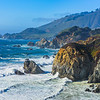 """Northern California Coastline near Garrapata State Park - D818712"