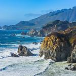 """Northern California Coastline near Garrapata State Park - D818712"
