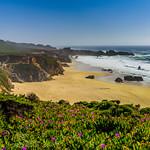 """Waves Crashing Along the Northern California Coast #4""  Garrapata State Park California"