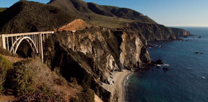 Big Sur Coast line