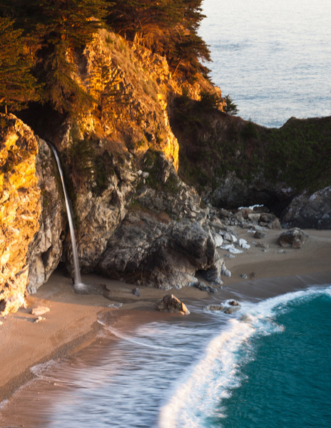 McWay Falls at Julia Pfeiffer-Burns State Park