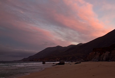 Sunrise, Garrapata Beach