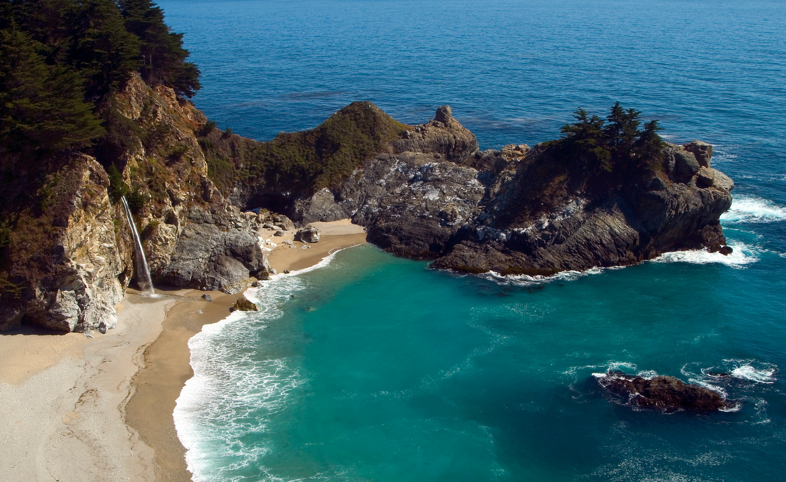 McWay Falls at Julia Pfeiffer State Park, Big Sur