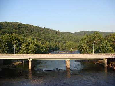 The Yough River at Ohiopyle.