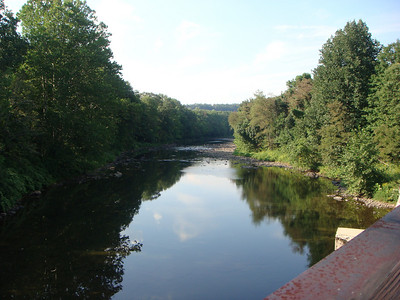 Casselman River just east of Harnedsville.