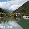Black Dragon Pool : This is located northern part of Lijiang. You have a view of Jade Dragon Snow Mountain in the background.