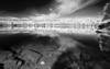 Canada, Quebec, La Mauricie National Park, Lac Bouchard, Fall Colors, Black and White, Reflection, Landscape, 加拿大 风景, 魁北克, 摩里斯国家公园, 秋色, 倒影,黑白摄影