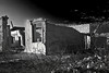 Texas, Ghost Town, Ruins, Terlingua, Black and White, Landscape, 德克萨斯, 鬼城,废墟, 黎明, 风景, 黑白摄影