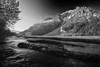 Alaska, Exit Glacier Road View, Seward,  Black-White, Landscape, 拉斯阿加 风景, 黑白摄影