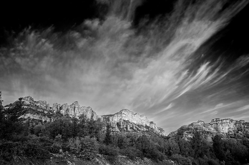 Arizona, Sedona, Boynton Canyon, Black White Landscape Art 亚利桑那, 红岩 黑白摄影, 风景