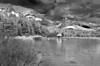 Canada, Jasper National Park, Maligne Lake, Landscape, 加拿大 贾斯珀国家公园 黑白摄影, 风景