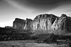 Utah, Capitol Reef National Park, Sunset, Red rock Black White Landscape Art, 犹他, 圆顶礁国家公园 黑白摄影, 风景