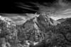 Utah, Zion National Park, Black White, Landscape, Art 犹他, 锡安山国家公园 黑白摄影, 风景