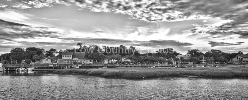 Panoramic view of Murrells Inlet