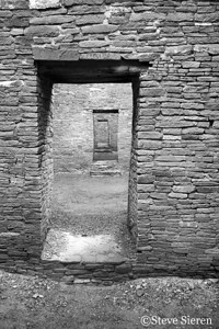 Chaco Canyon Ruin Doorway, New Mexico
