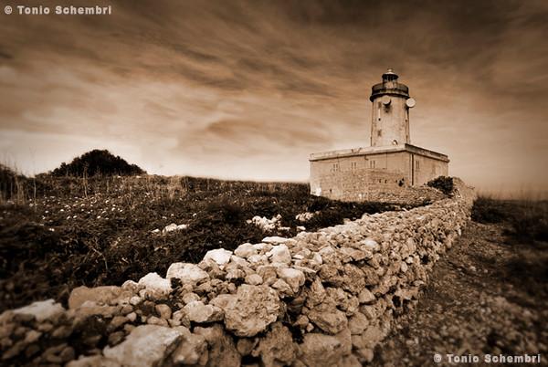 Ta' Giordan Lighthouse in Ghasri Gozo.