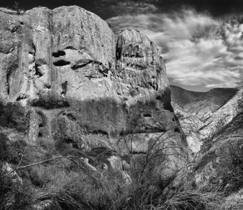 Crags at the west end of Texas Canyon Angeles National Forest
