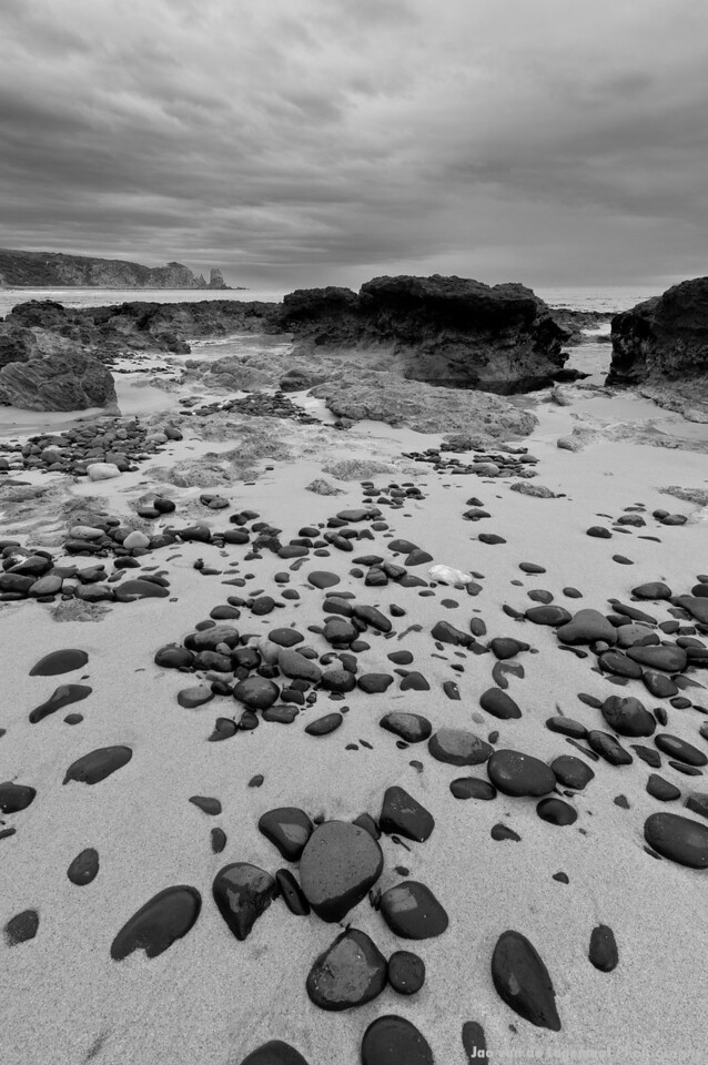 Beached greyscale