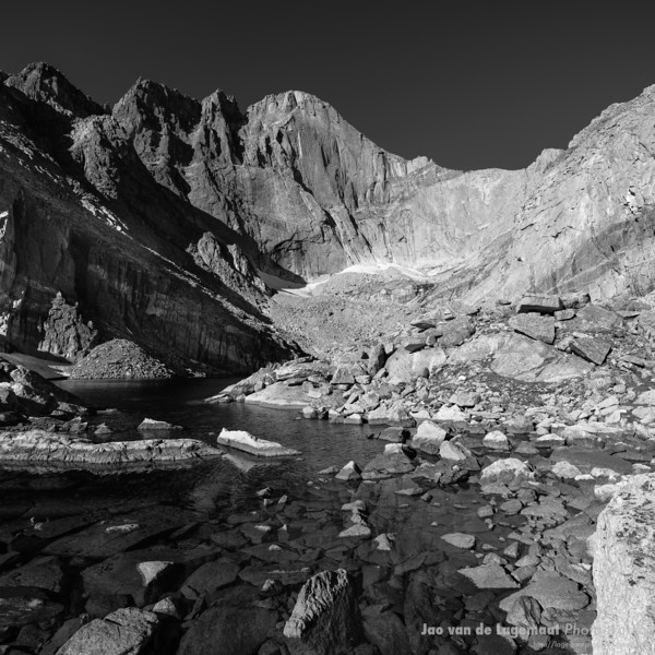 The Chasm B&W