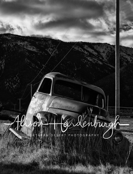 Abandoned Truck, Carson Valley