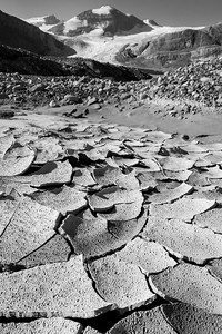 'Freeze Dried' - The glacial flats below Peyto Glacier look like a different planet.