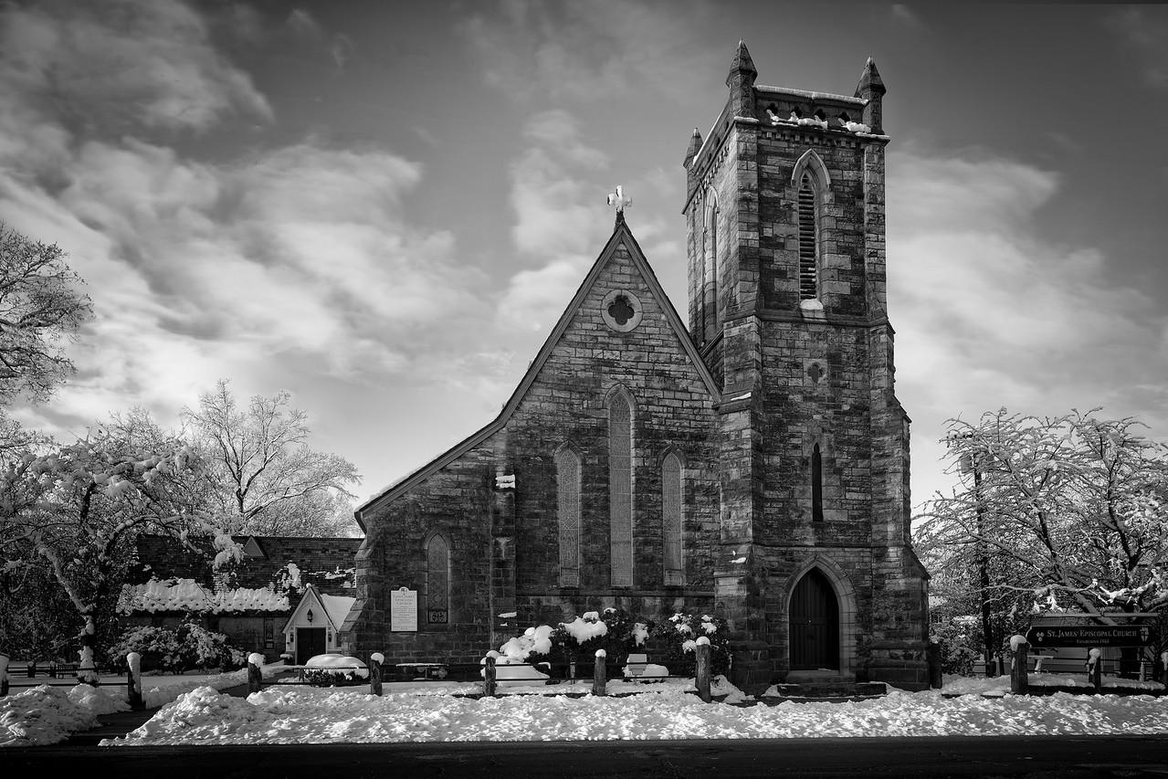 St James Winter Scene