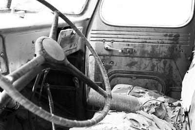 Crew truck interior