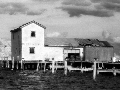 Bills Fish Dock in Poquoson, VA September 2001