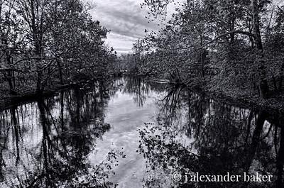 Black Water - Ramapo River, Mahwah, NJ