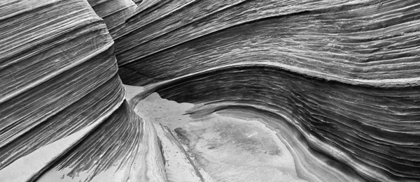 Portal. The Wave at North Coyote Buttes on the Paria Plateau in northern Arizona.