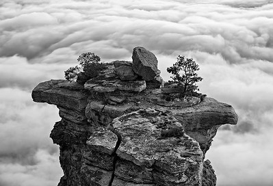 Mather's Throne above the Clouds