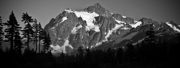 Mt. Shuksan at Dusk - Washington