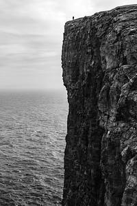 Trælanípa Faroe Islands