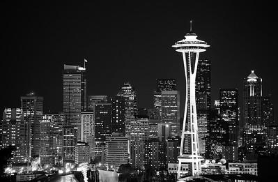 Evening Skyline - Seattle, WA