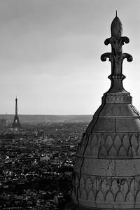 Paris as seen from Sacré Cœur