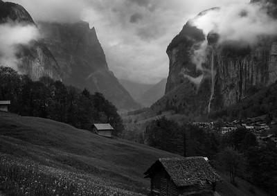 Passing Storm - Lauterbrunnen, Switzerland