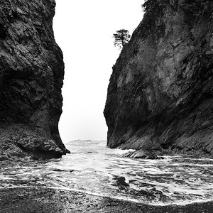 Incoming Pacific Tide - La Push, Washington