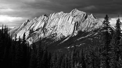 Storms over the Queen Elizabeth Range - Alberta, Canada