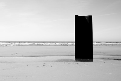 Steel on Blackpool Beach