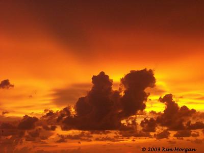 Sunset on Captiva Island.