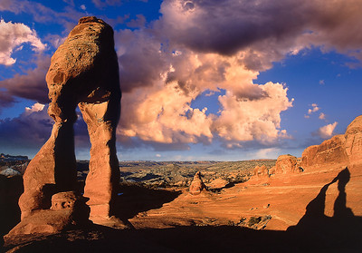 Delicate Arch at first light.