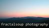 Dusk atop the Blue Ridge Mountains